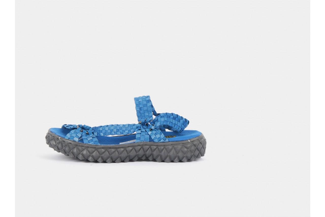 Sandały rock california washed elblue, niebieski, materiał  - rock - nasze marki 7