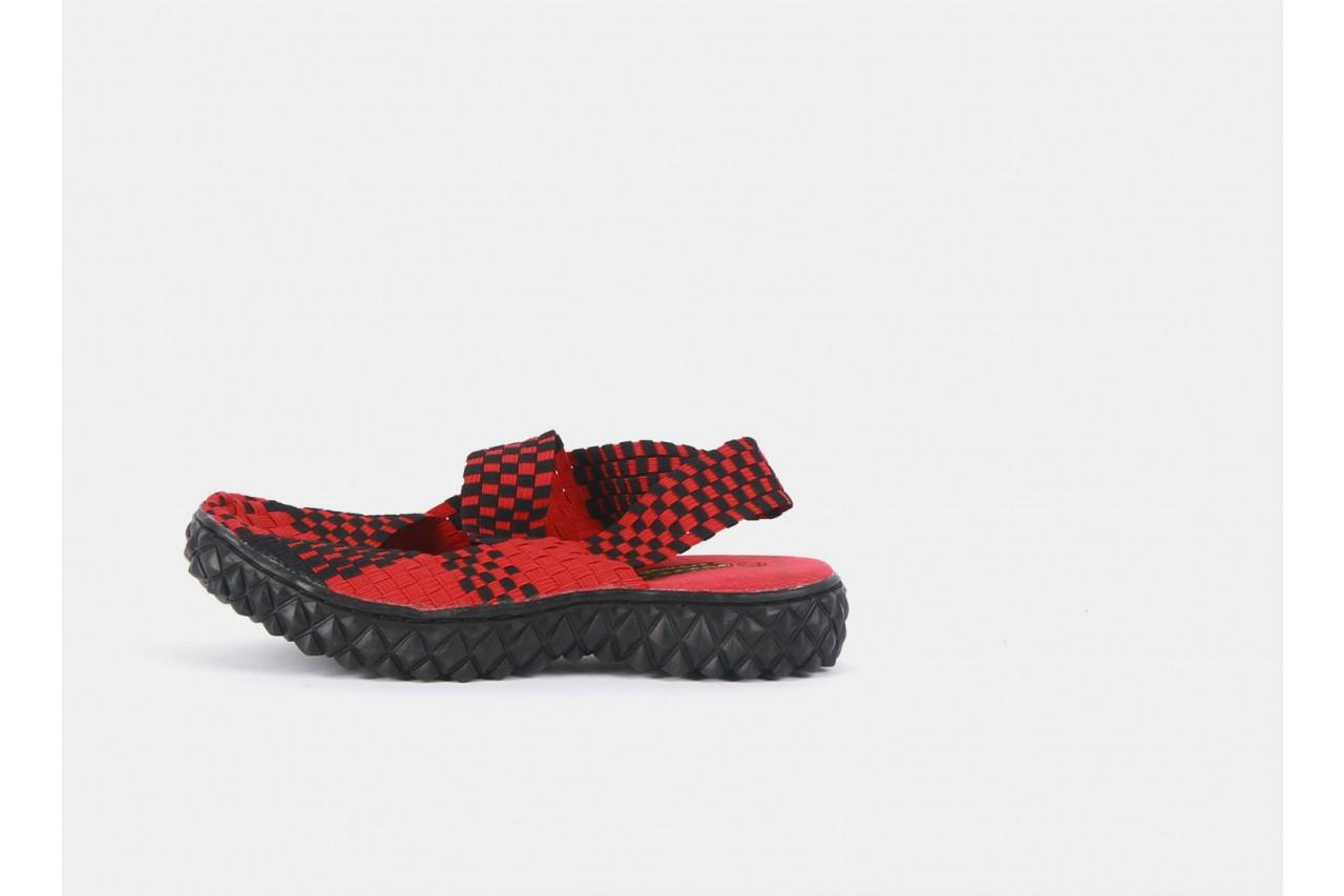 Rock over sandal red-black - rock - nasze marki 10