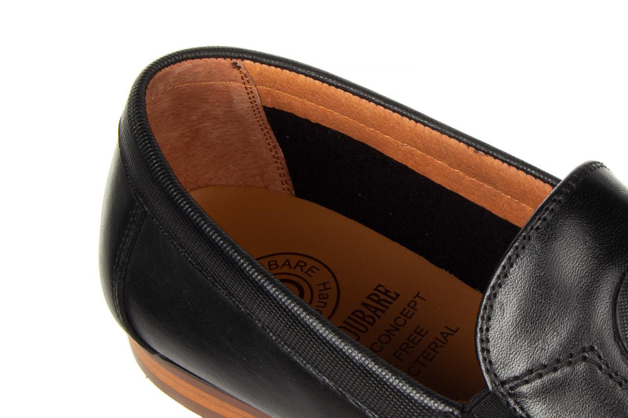 Mokasyny john doubare ygc-z2154-301-10 black 104174, czarny, skóra naturalna  - mokasyny i espadryle - buty męskie - mężczyzna 17