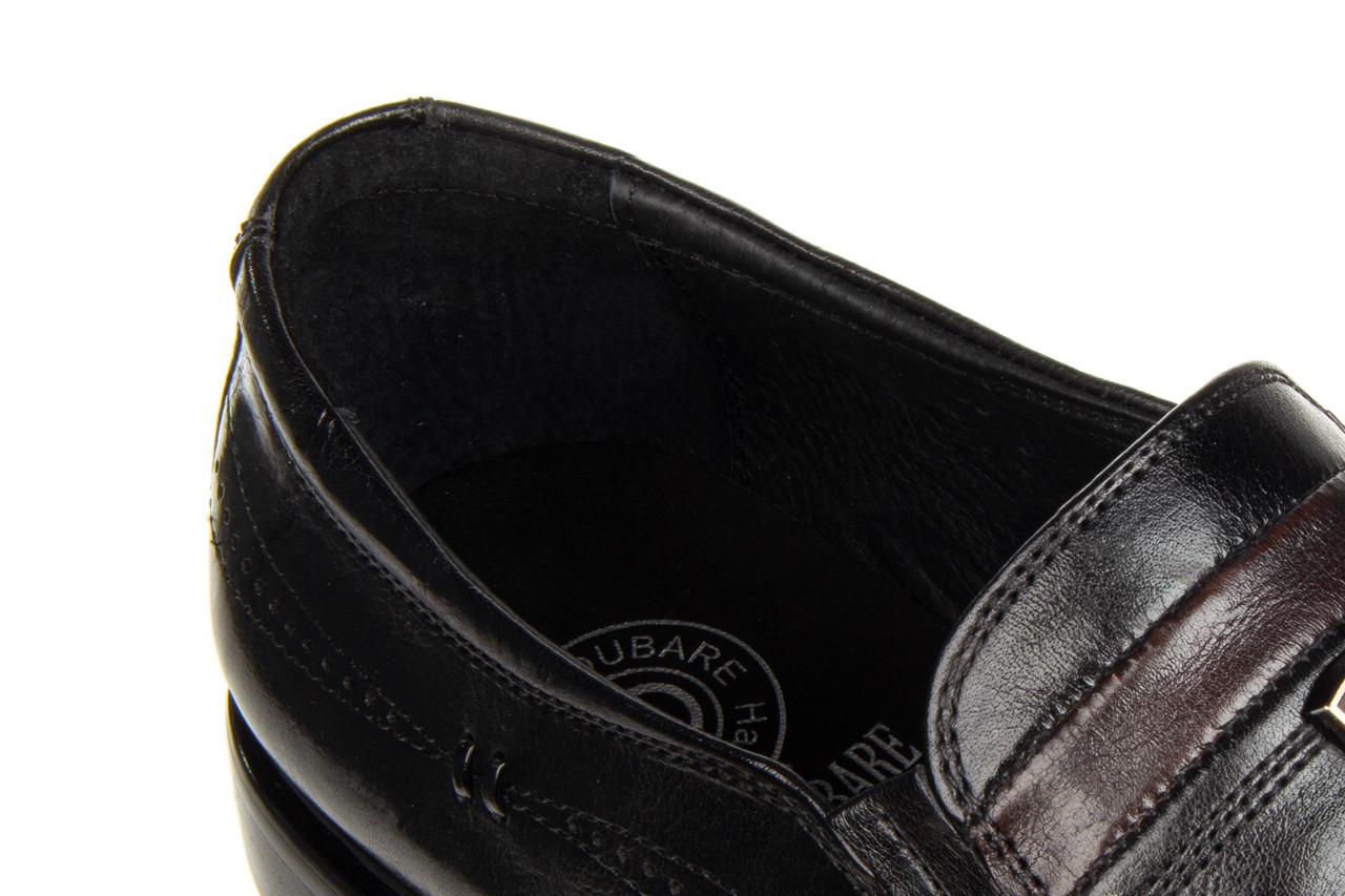 Półbuty john doubare ygc-z253-351-1 black 104176, czarny, skóra naturalna  - nowości 17