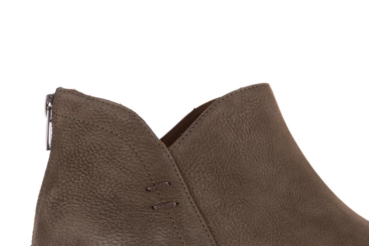 Botki bayla-161 061-2001 khaki, zielony, skóra naturalna  - bayla - nasze marki 15