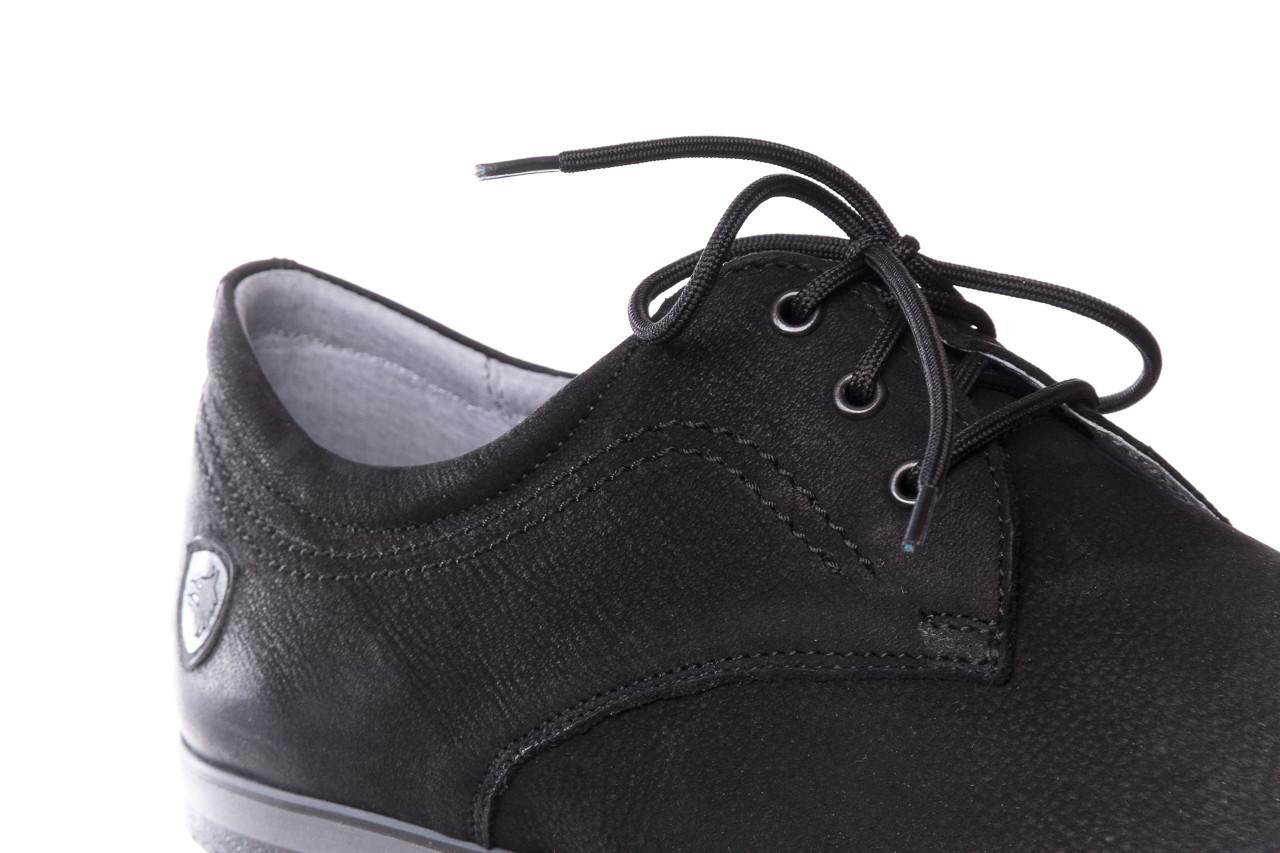 Półbuty bayla-081 877 juma czarna, czarny, skóra naturalna - buty męskie - mężczyzna 12