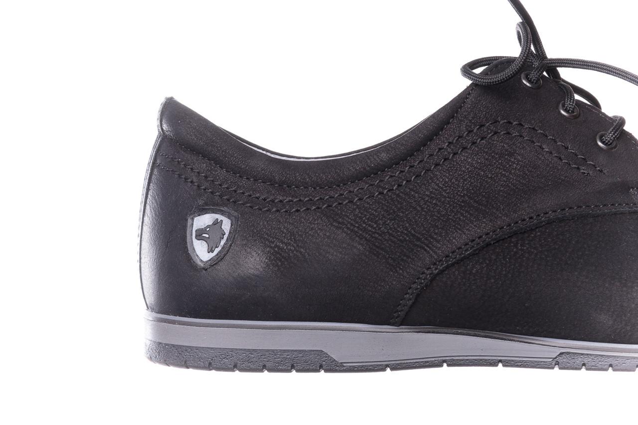 Półbuty bayla-081 877 juma czarna, czarny, skóra naturalna - buty męskie - mężczyzna 13