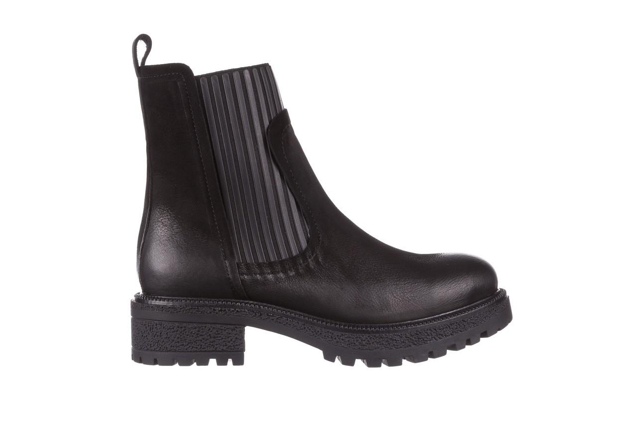 Botki bayla-161 050-0508 black, czarny, skóra naturalna  - skórzane - botki - buty damskie - kobieta 10