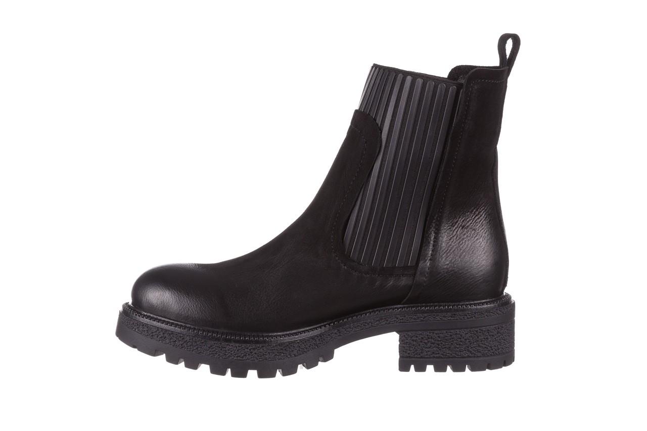 Botki bayla-161 050-0508 black, czarny, skóra naturalna  - skórzane - botki - buty damskie - kobieta 13