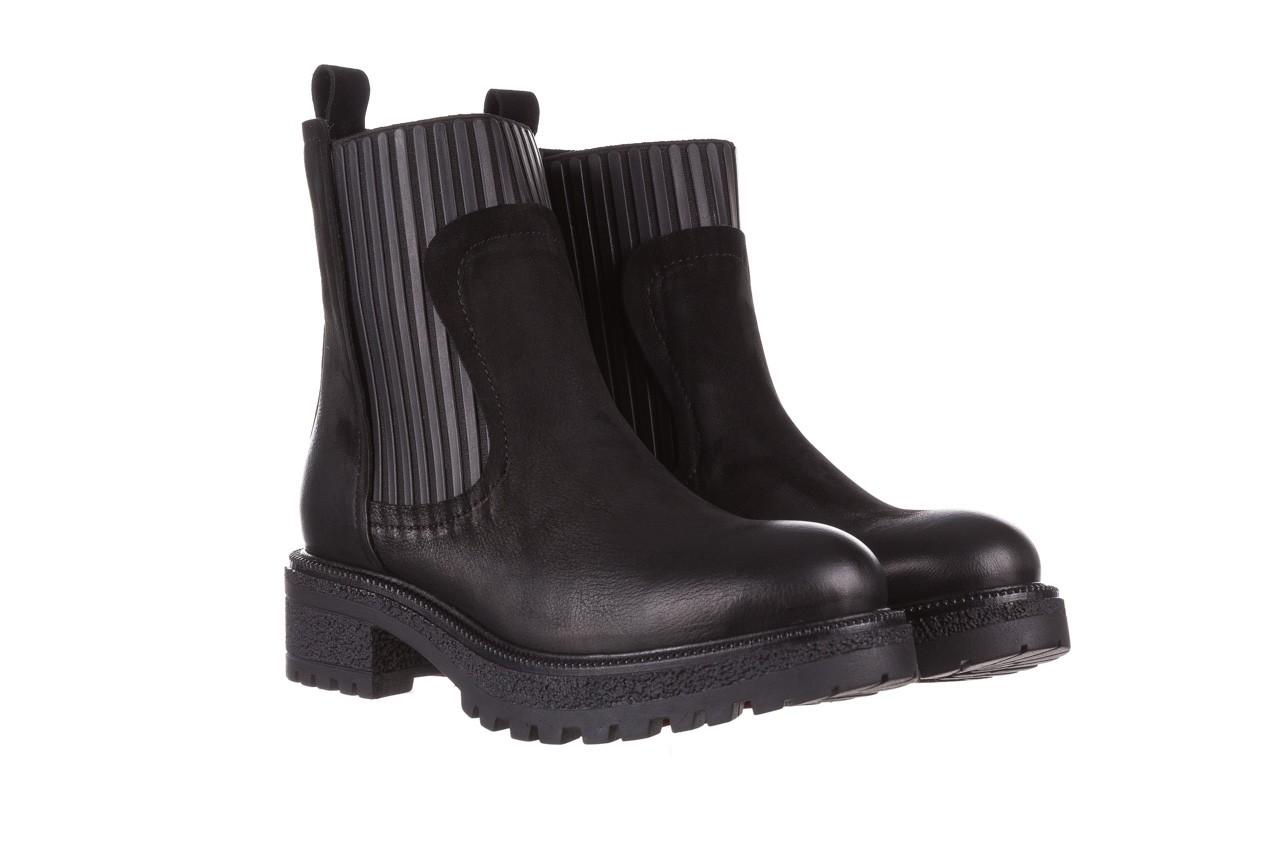 Botki bayla-161 050-0508 black, czarny, skóra naturalna  - skórzane - botki - buty damskie - kobieta 11