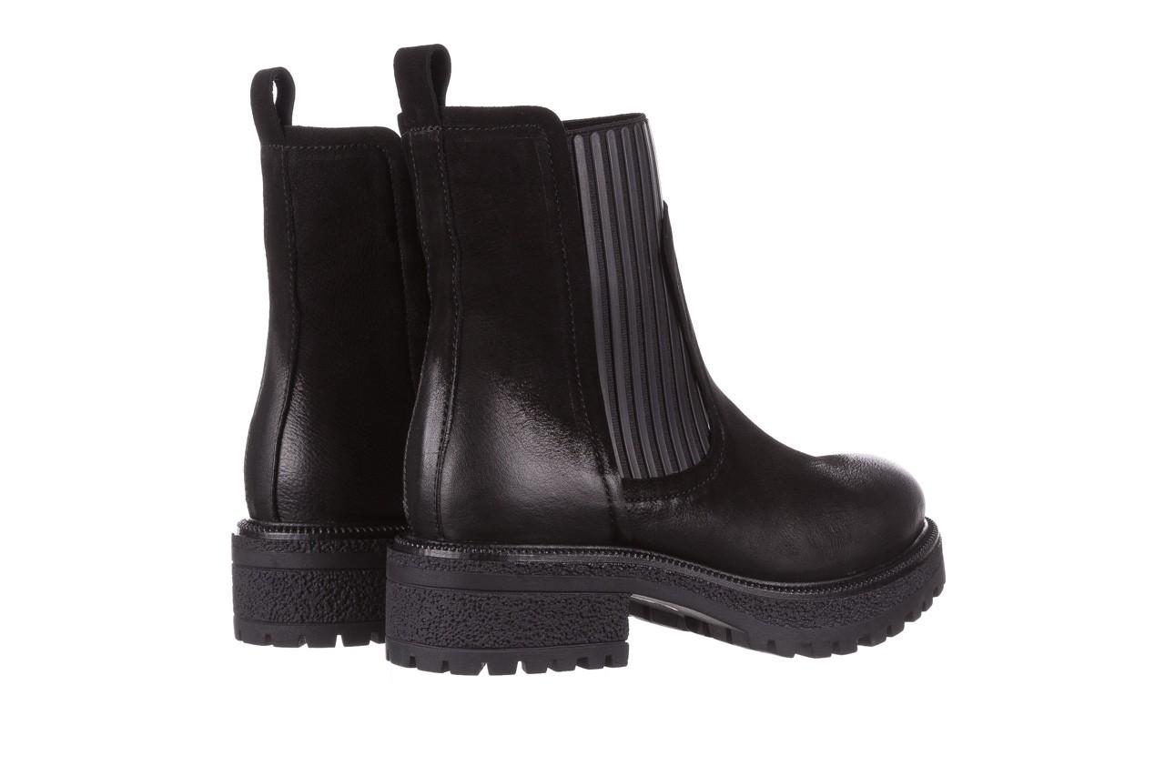Botki bayla-161 050-0508 black, czarny, skóra naturalna  - skórzane - botki - buty damskie - kobieta 14