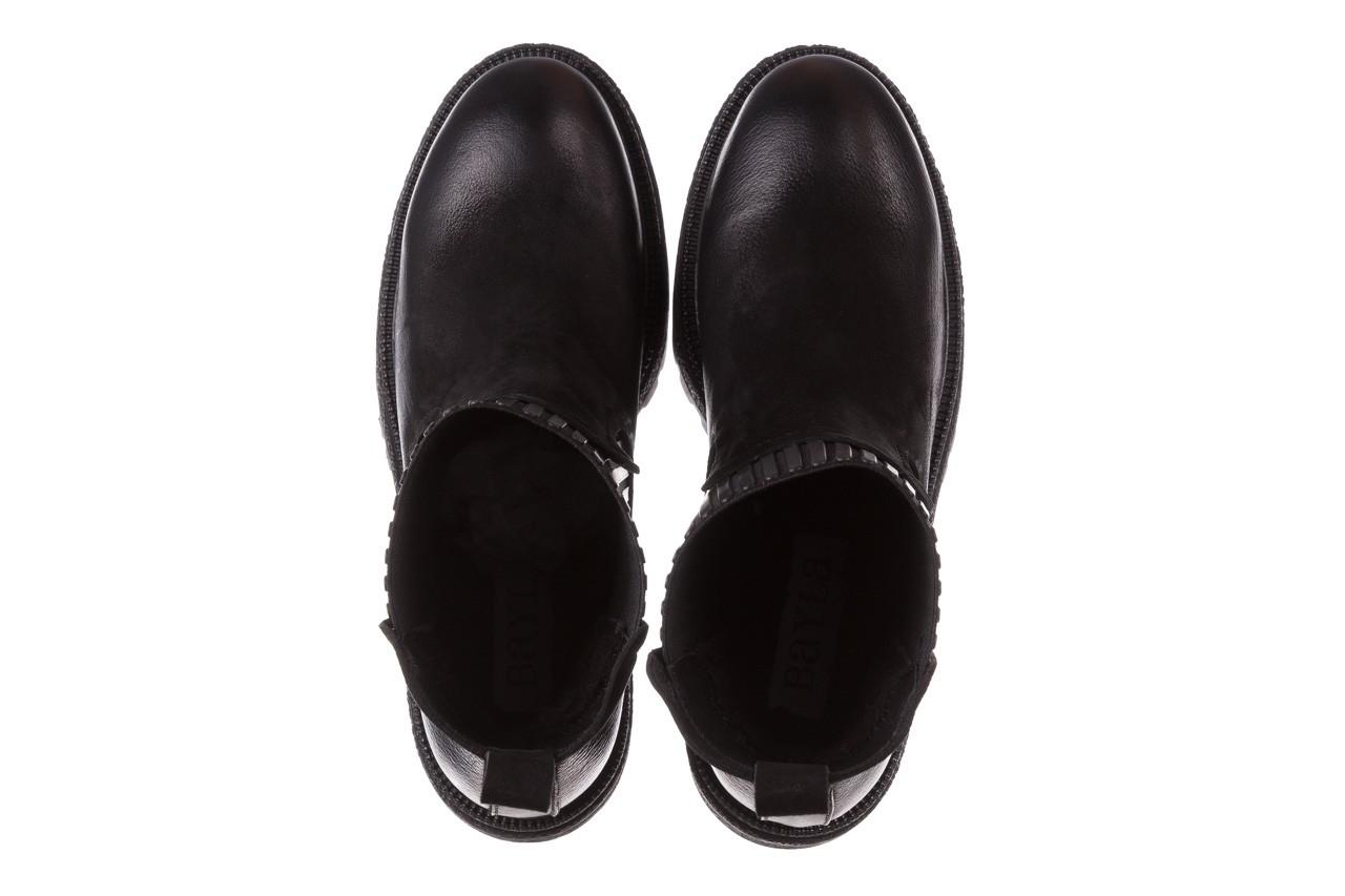 Botki bayla-161 050-0508 black, czarny, skóra naturalna  - skórzane - botki - buty damskie - kobieta 15