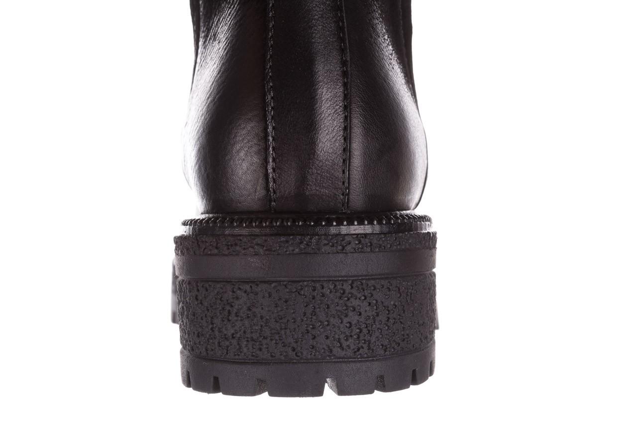 Botki bayla-161 050-0508 black, czarny, skóra naturalna  - skórzane - botki - buty damskie - kobieta 18