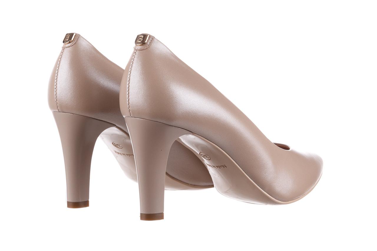 Czółenka bayla-056 7060-1461 beż perła 056516, skóra naturalna  - na słupku - czółenka - buty damskie - kobieta 11