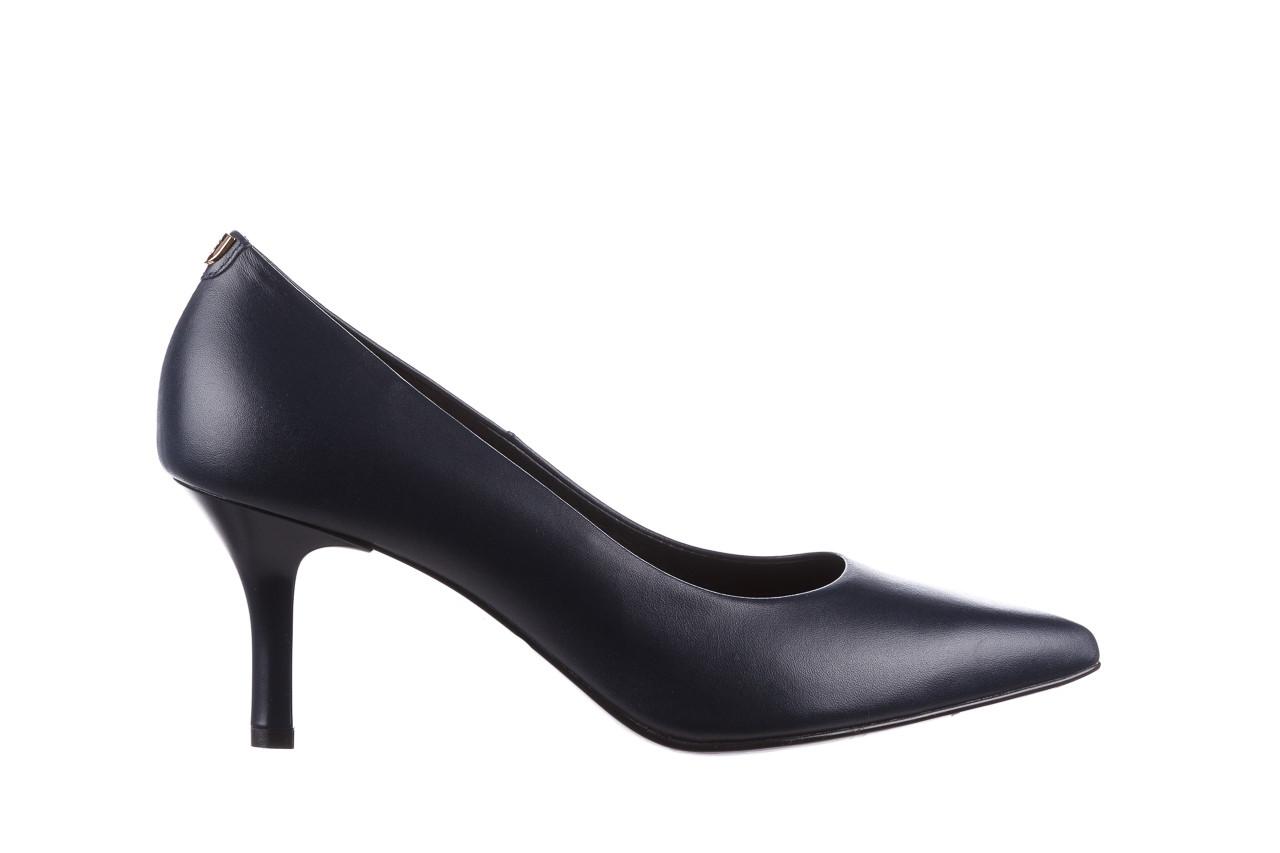 Czółenka bayla-056 9117-766 granat 056517, skóra naturalna  - skórzane - czółenka - buty damskie - kobieta 7