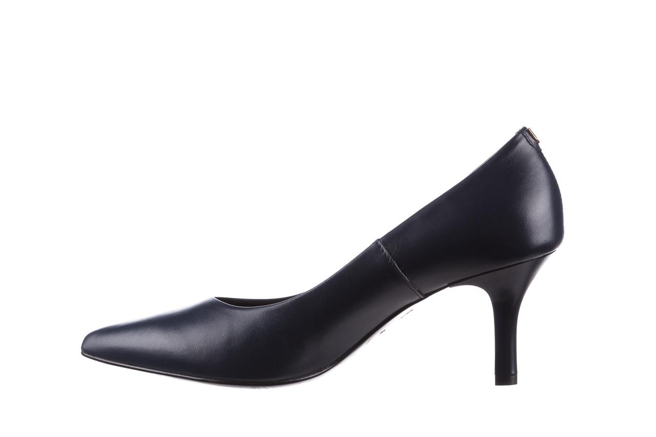 Czółenka bayla-056 9117-766 granat 056517, skóra naturalna  - skórzane - czółenka - buty damskie - kobieta 10