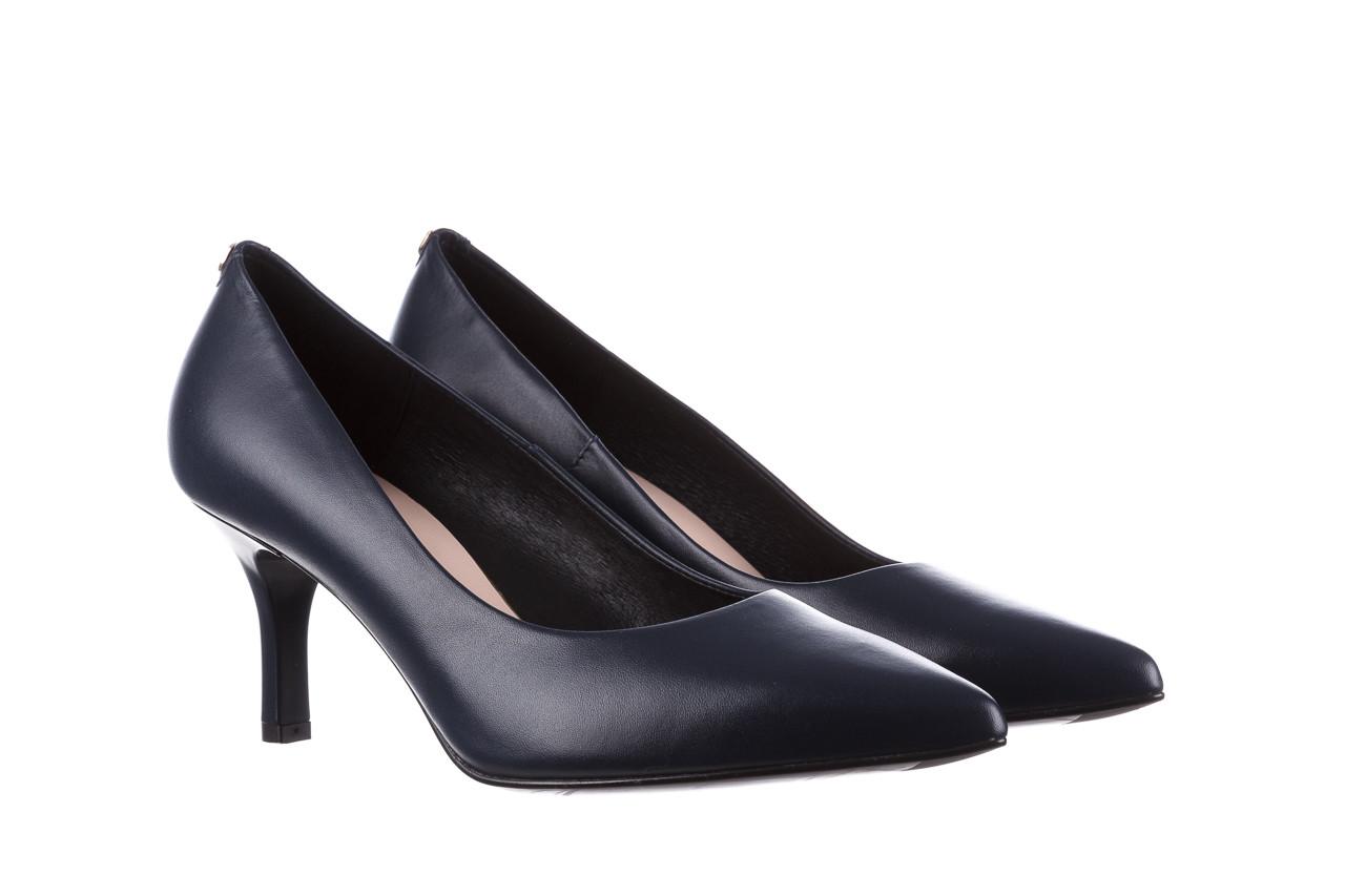 Czółenka bayla-056 9117-766 granat 056517, skóra naturalna  - skórzane - czółenka - buty damskie - kobieta 8