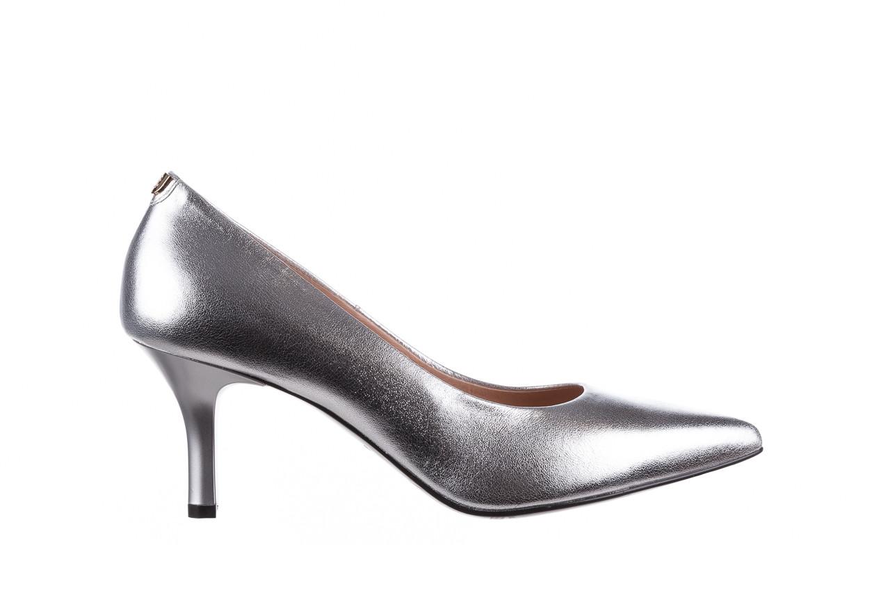Czółenka bayla-056 9117-1103 srebrny 056518, skóra naturalna  - skórzane - czółenka - buty damskie - kobieta 7