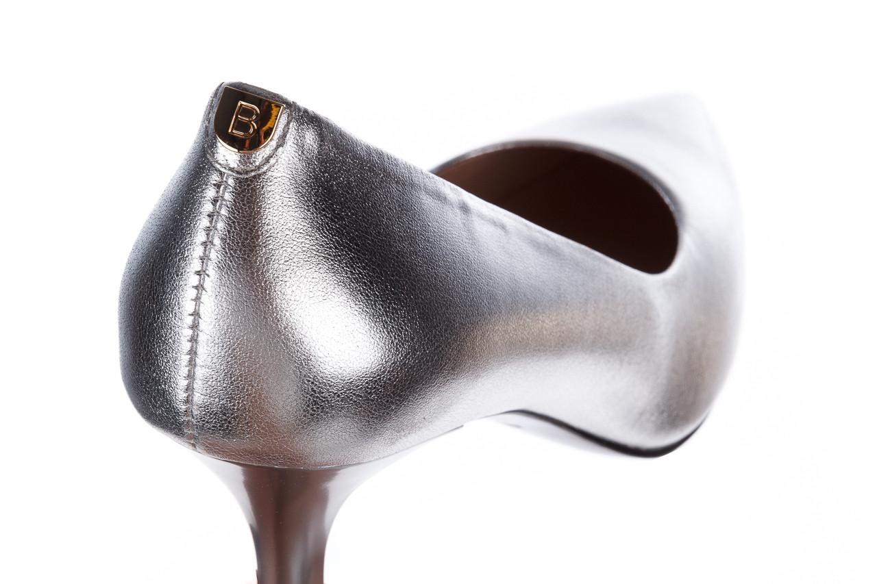 Czółenka bayla-056 9117-1103 srebrny 056518, skóra naturalna  - skórzane - czółenka - buty damskie - kobieta 13