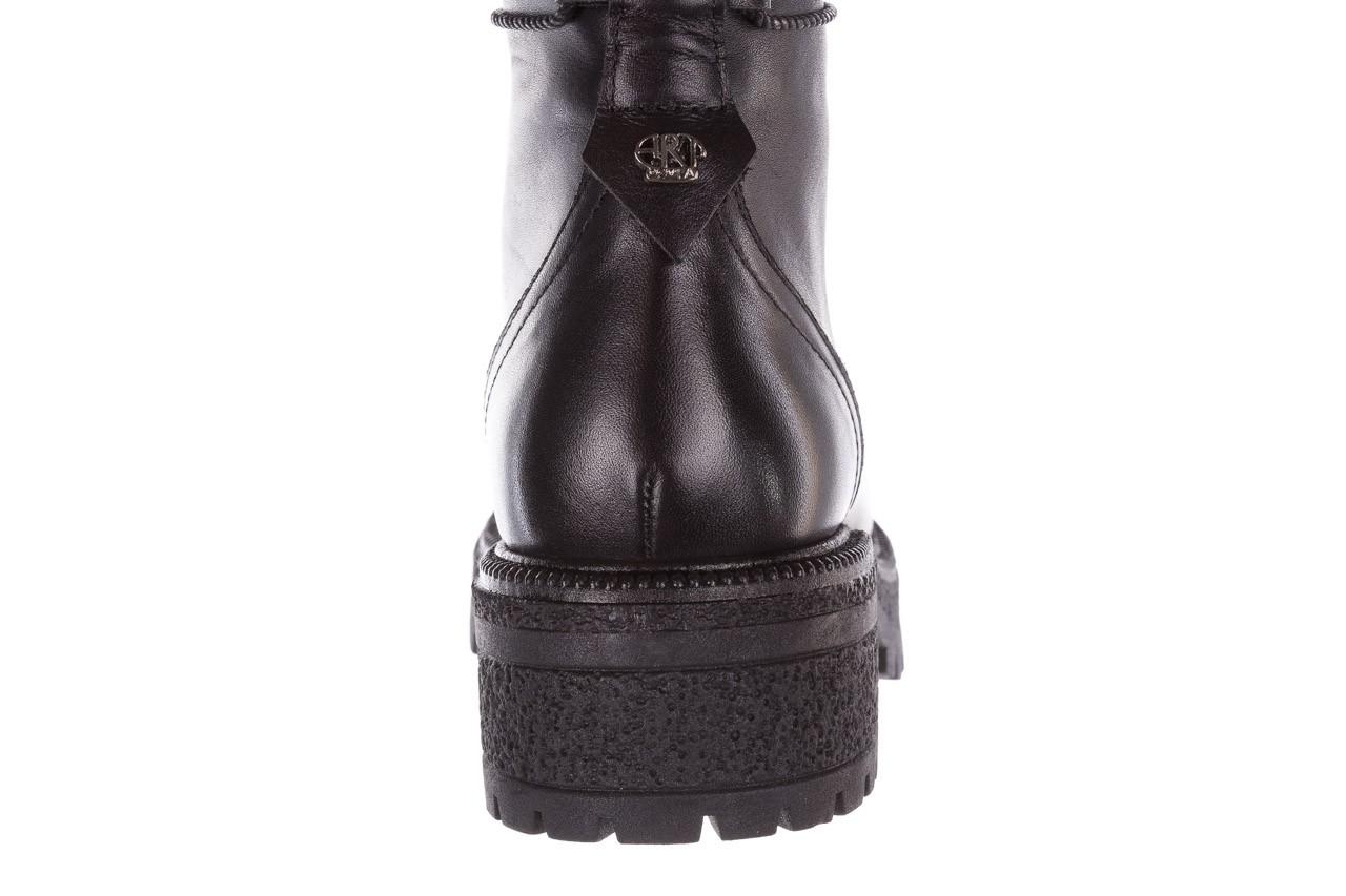 Trzewiki bayla-161 050-0501 black, czarny, skóra naturalna 20