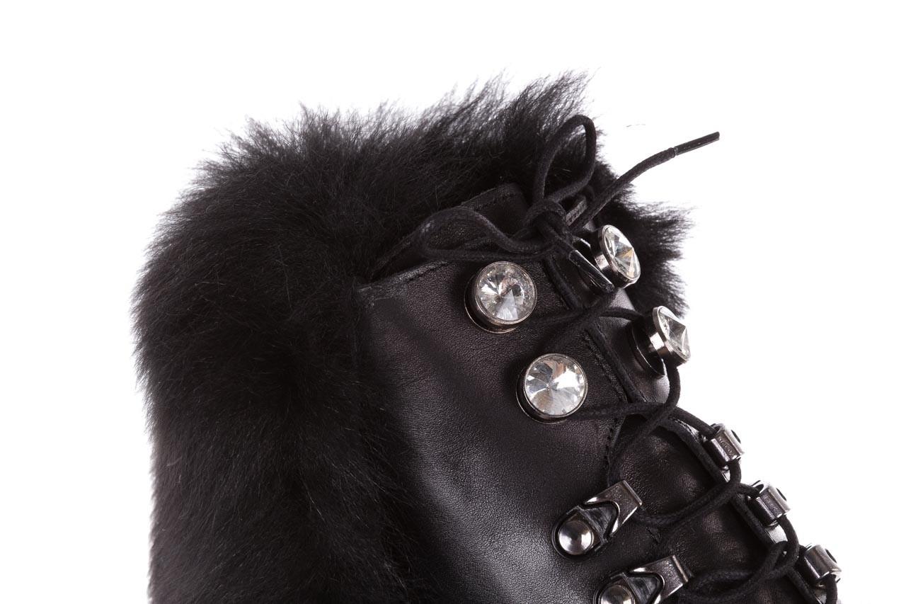 Trzewiki bayla-161 068-9015 black, czarny, skóra naturalna - botki i trzewiki - dla niej  - sale 16