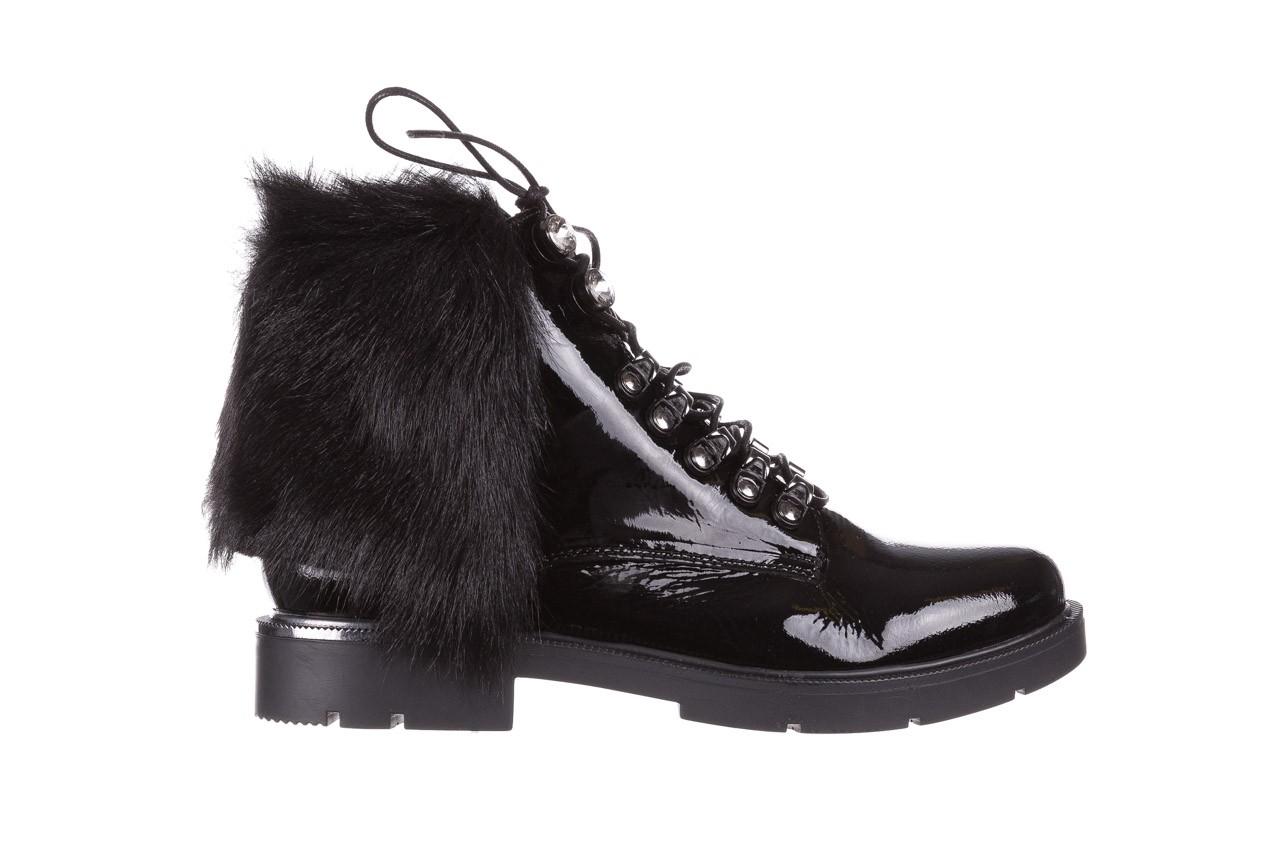 Trzewiki bayla-161 068-9015 black patent, czarny, skóra naturalna lakierowana  - trzewiki - buty damskie - kobieta 9