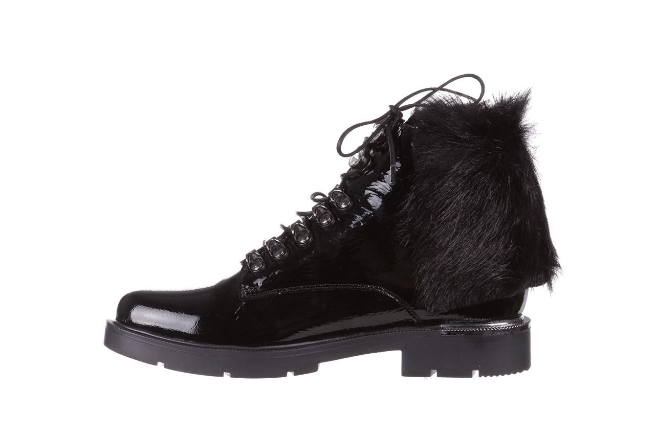 Trzewiki bayla-161 068-9015 black patent, czarny, skóra naturalna lakierowana  - trzewiki - buty damskie - kobieta 12