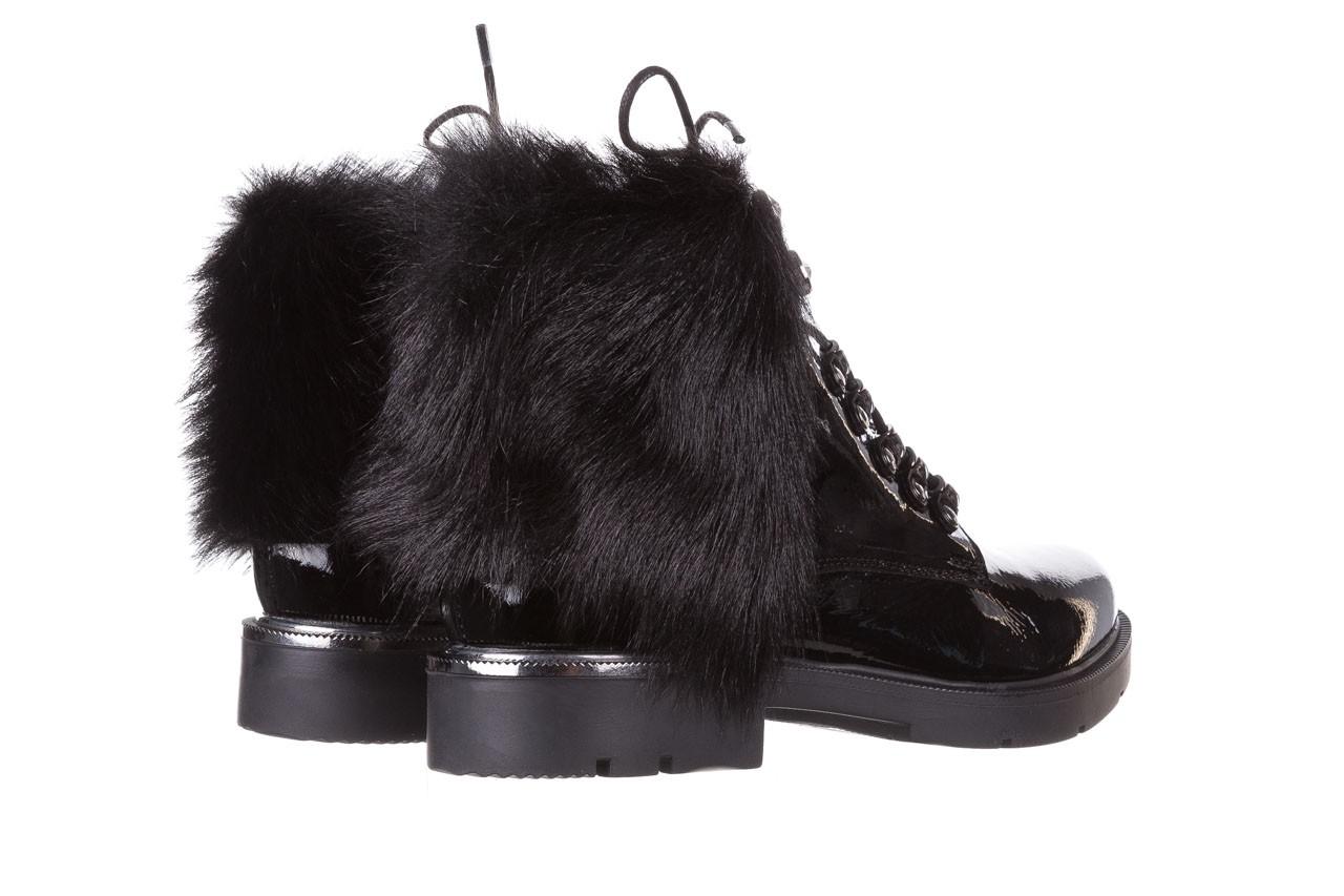 Trzewiki bayla-161 068-9015 black patent, czarny, skóra naturalna lakierowana  - trzewiki - buty damskie - kobieta 13