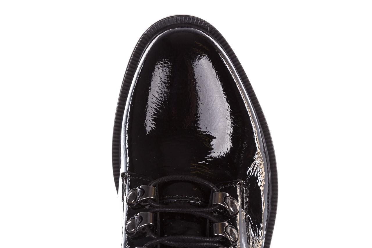 Trzewiki bayla-161 068-9015 black patent, czarny, skóra naturalna lakierowana  - trzewiki - buty damskie - kobieta 15