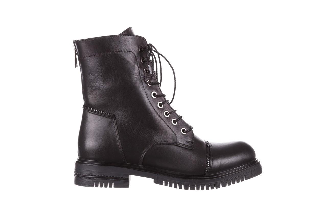 Trzewiki bayla-161 050-3055 black, czarny, skóra naturalna  - trzewiki - buty damskie - kobieta 11