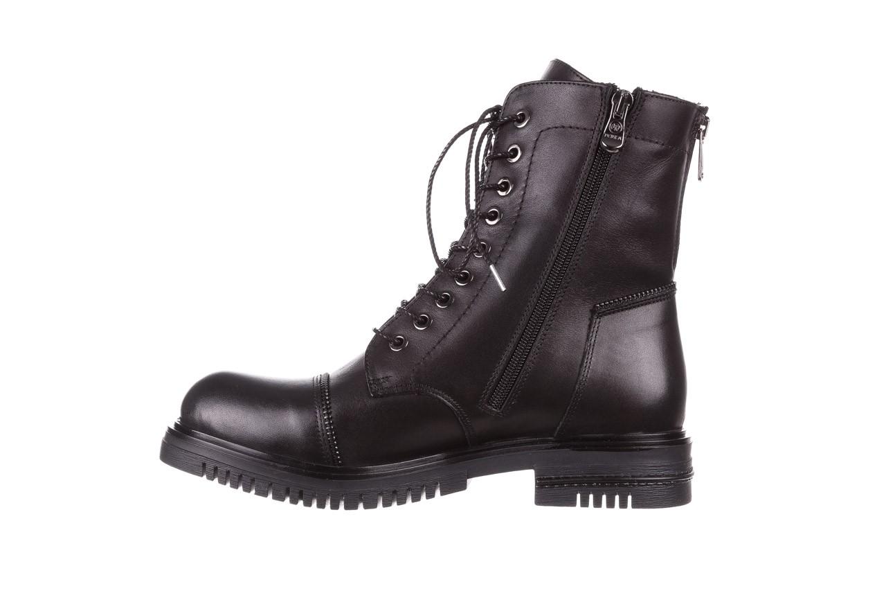 Trzewiki bayla-161 050-3055 black, czarny, skóra naturalna  - trzewiki - buty damskie - kobieta 14