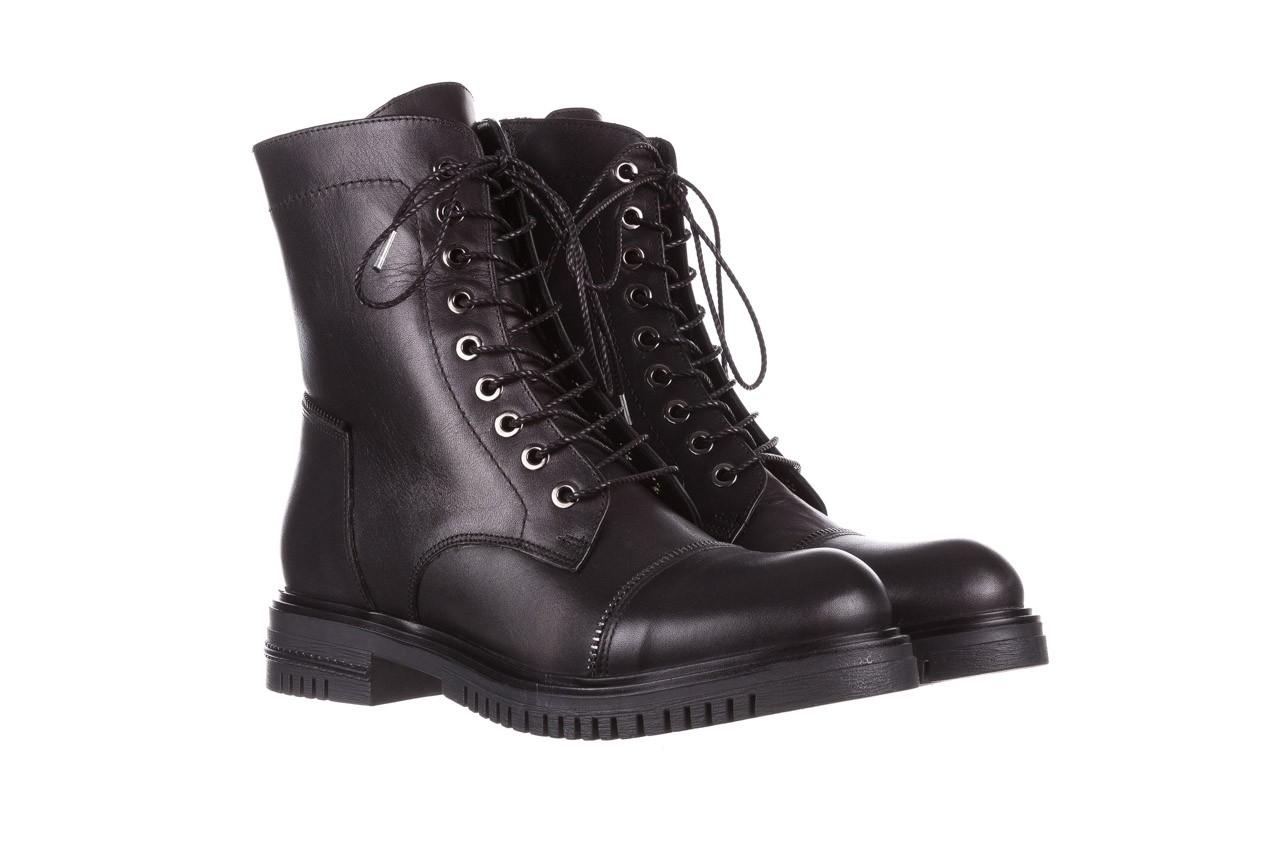Trzewiki bayla-161 050-3055 black, czarny, skóra naturalna  - trzewiki - buty damskie - kobieta 12