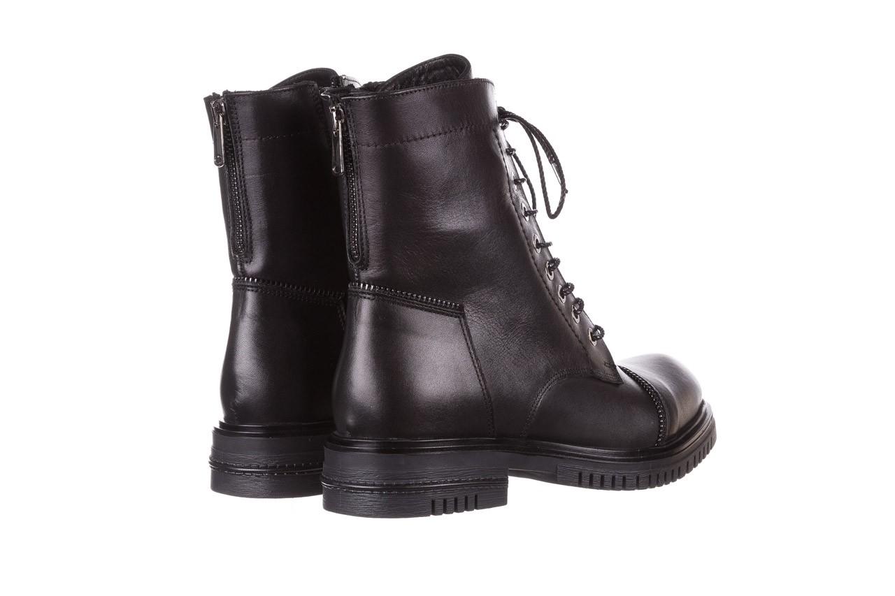 Trzewiki bayla-161 050-3055 black, czarny, skóra naturalna  - trzewiki - buty damskie - kobieta 15
