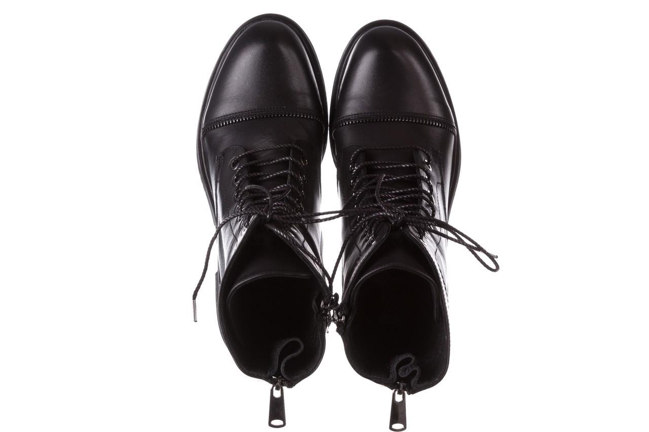 Trzewiki bayla-161 050-3055 black, czarny, skóra naturalna  - trzewiki - buty damskie - kobieta 16