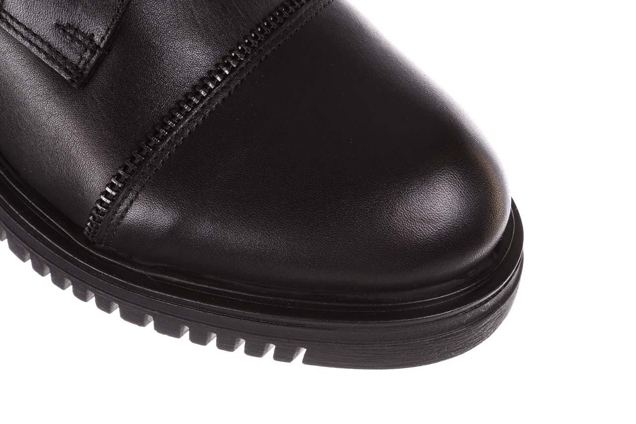 Trzewiki bayla-161 050-3055 black, czarny, skóra naturalna  - trzewiki - buty damskie - kobieta 17