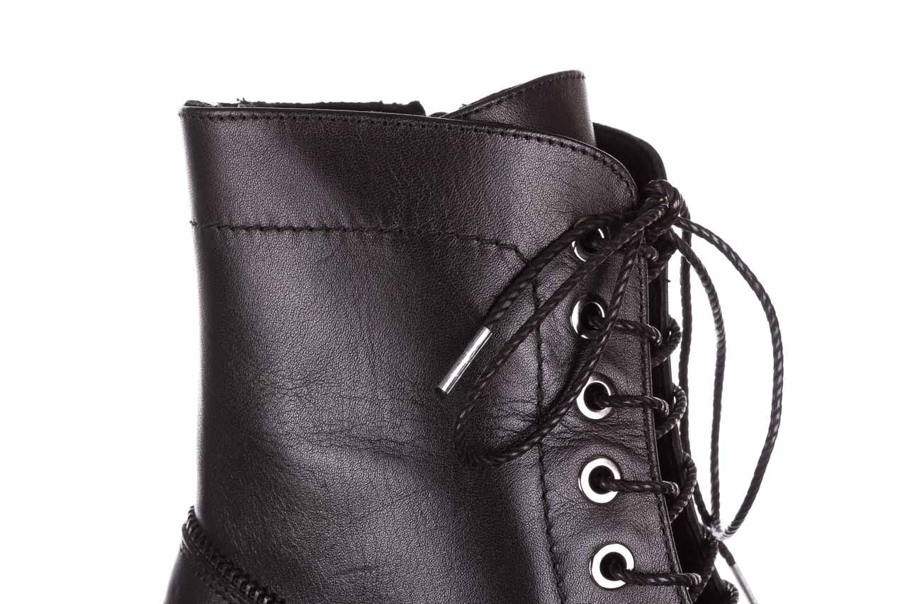 Trzewiki bayla-161 050-3055 black, czarny, skóra naturalna  - trzewiki - buty damskie - kobieta 18