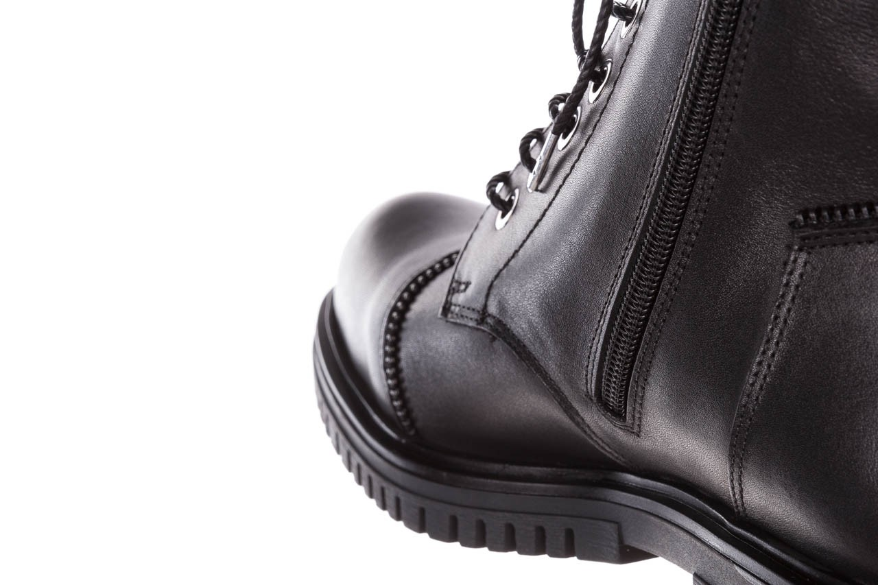 Trzewiki bayla-161 050-3055 black, czarny, skóra naturalna  - trzewiki - buty damskie - kobieta 19