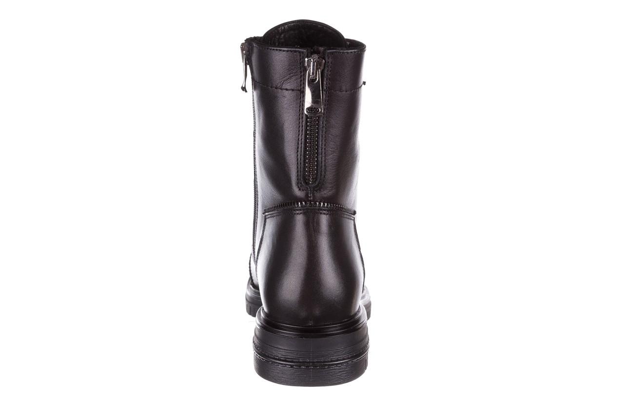 Trzewiki bayla-161 050-3055 black, czarny, skóra naturalna  - trzewiki - buty damskie - kobieta 20