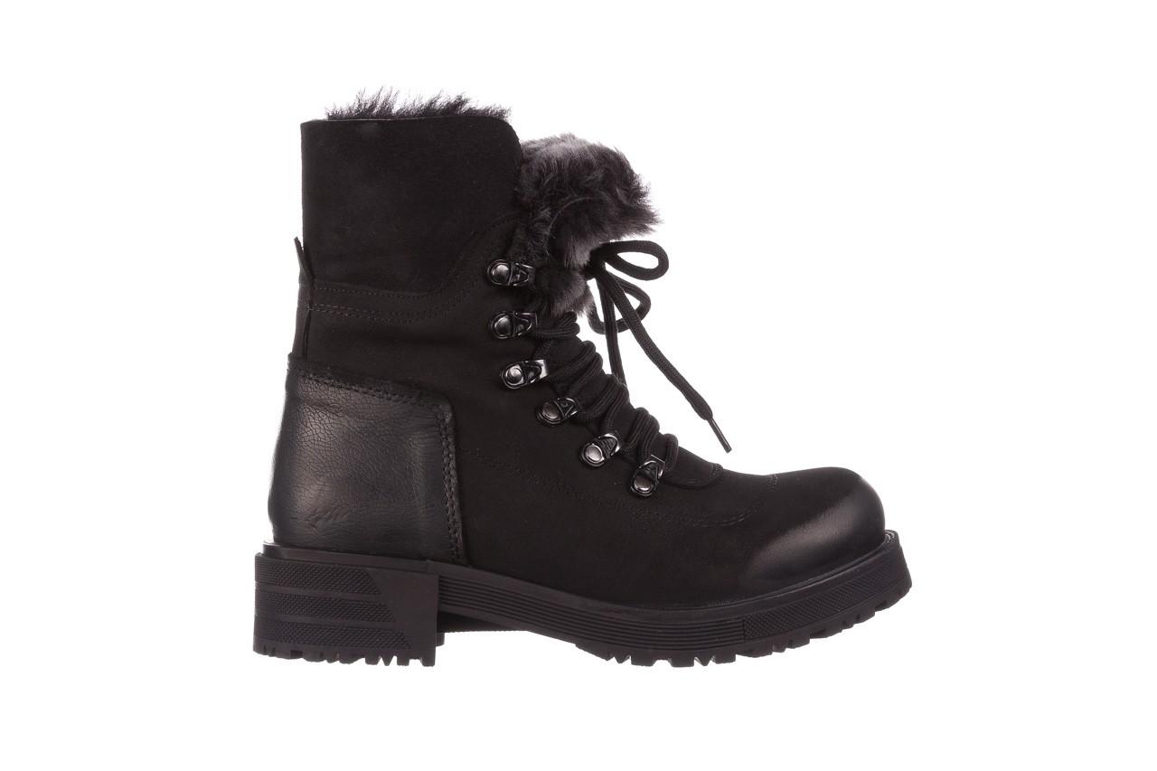 Trzewiki bayla-161 059-2117 black, czarny, skóra naturalna  - trzewiki - buty damskie - kobieta 11