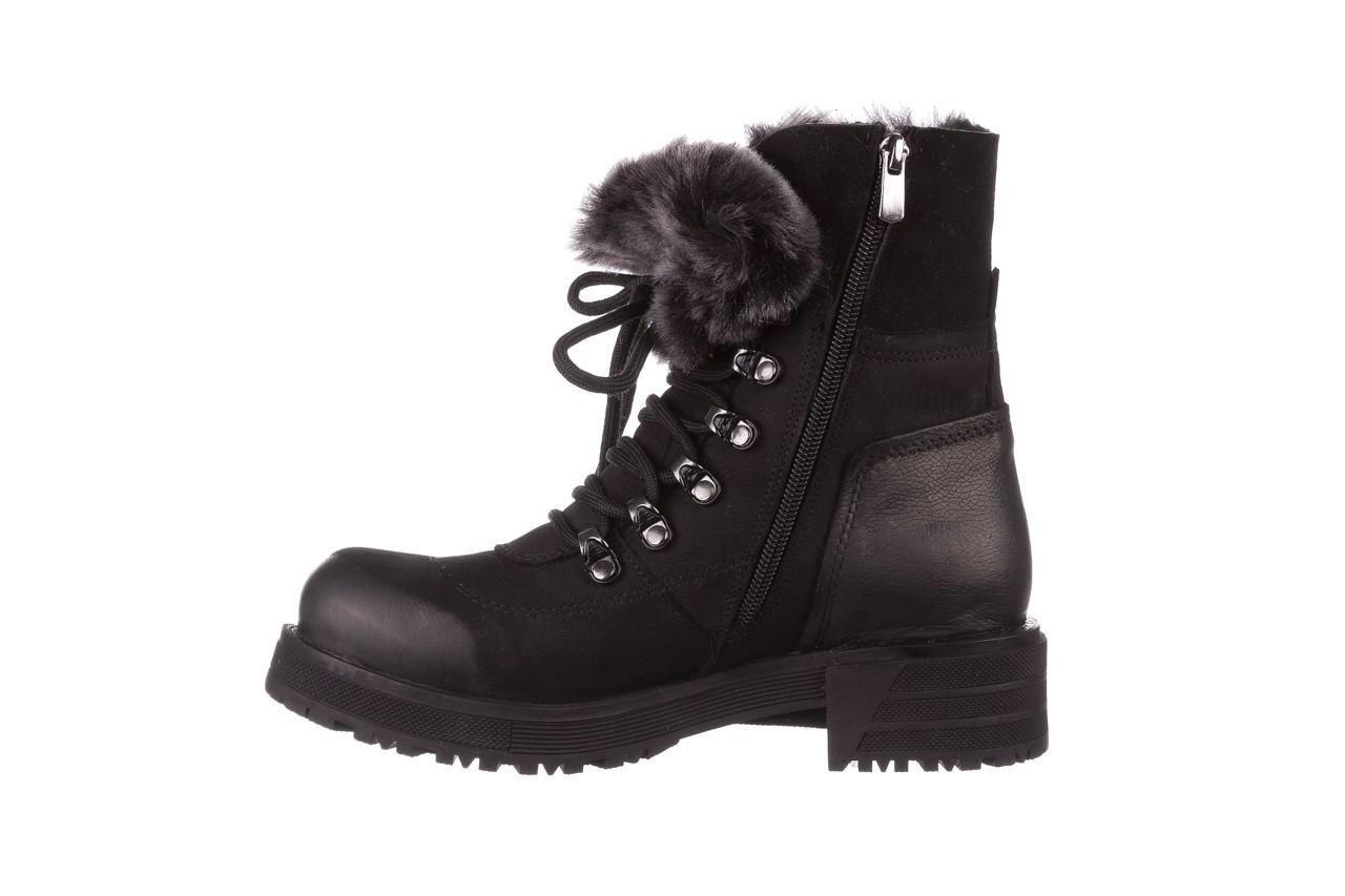 Trzewiki bayla-161 059-2117 black, czarny, skóra naturalna  - trzewiki - buty damskie - kobieta 14