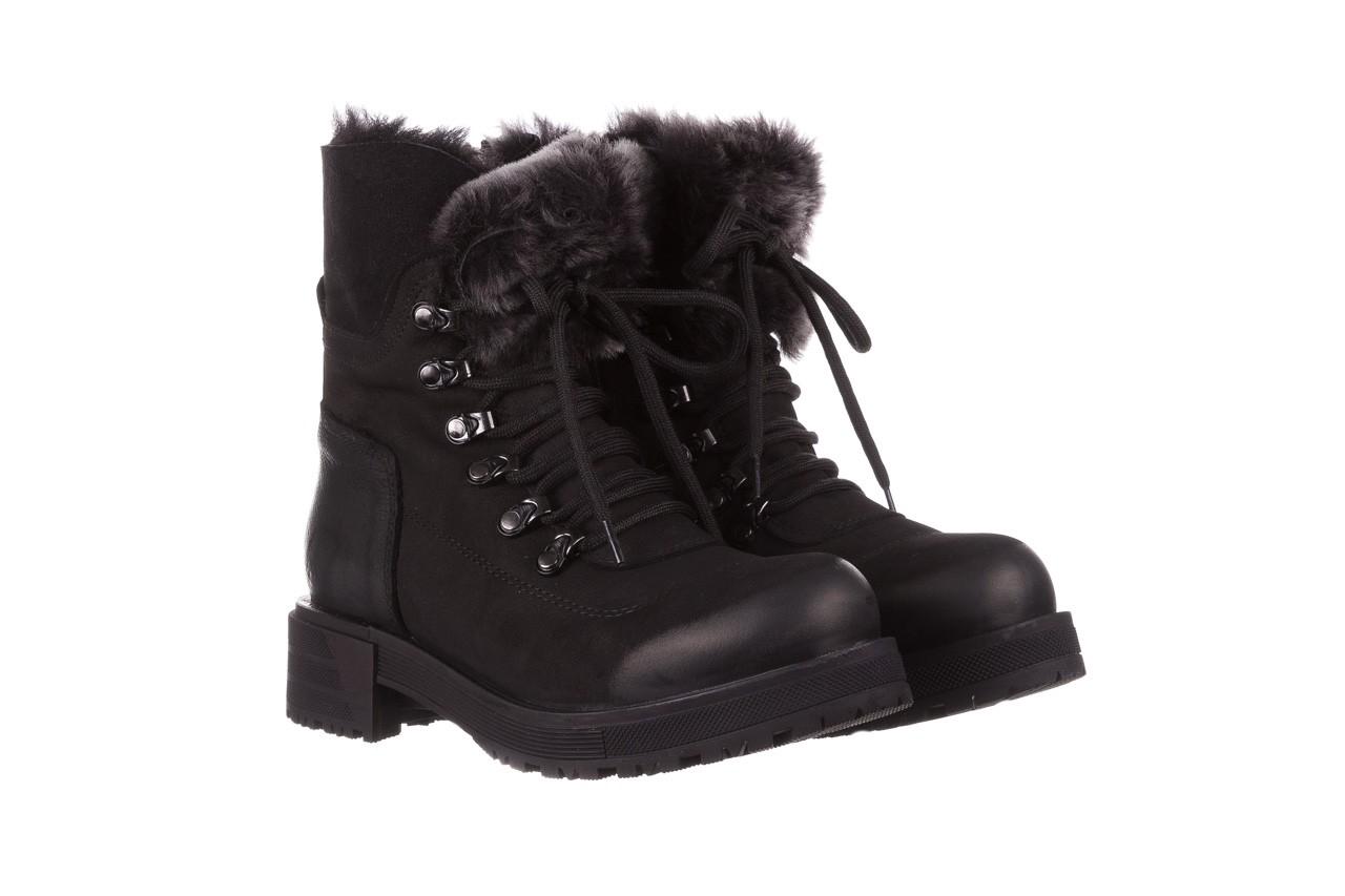 Trzewiki bayla-161 059-2117 black, czarny, skóra naturalna  - trzewiki - buty damskie - kobieta 12