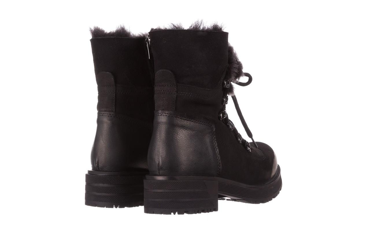 Trzewiki bayla-161 059-2117 black, czarny, skóra naturalna  - trzewiki - buty damskie - kobieta 15