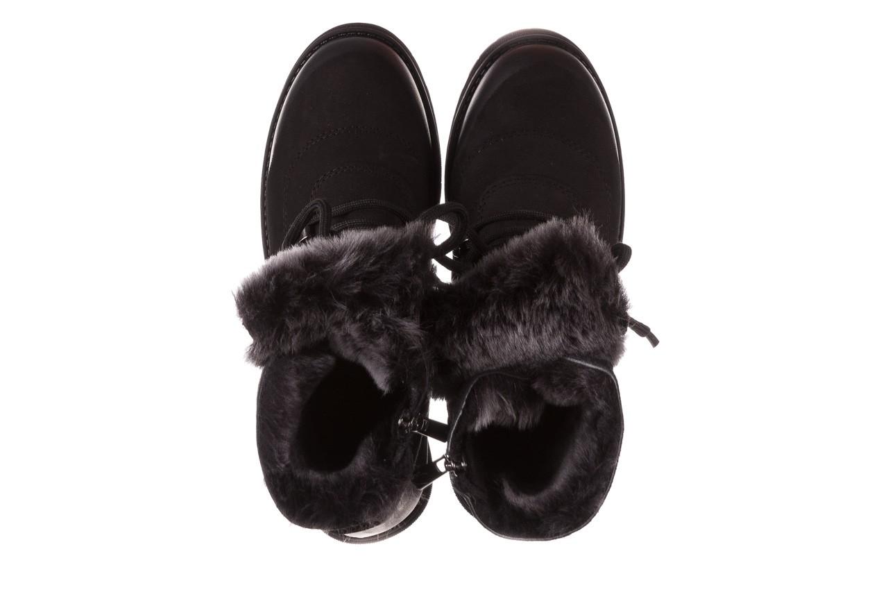 Trzewiki bayla-161 059-2117 black, czarny, skóra naturalna  - trzewiki - buty damskie - kobieta 16