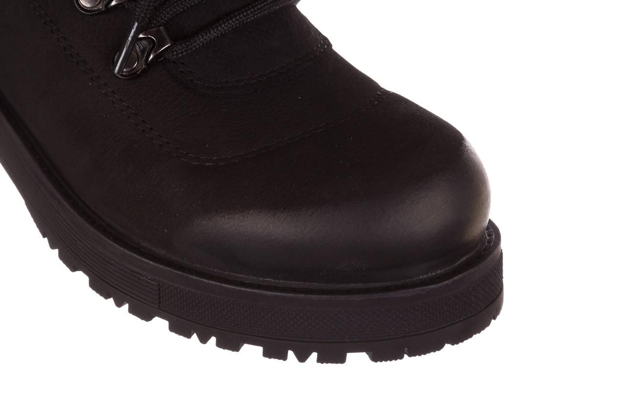 Trzewiki bayla-161 059-2117 black, czarny, skóra naturalna  - trzewiki - buty damskie - kobieta 17