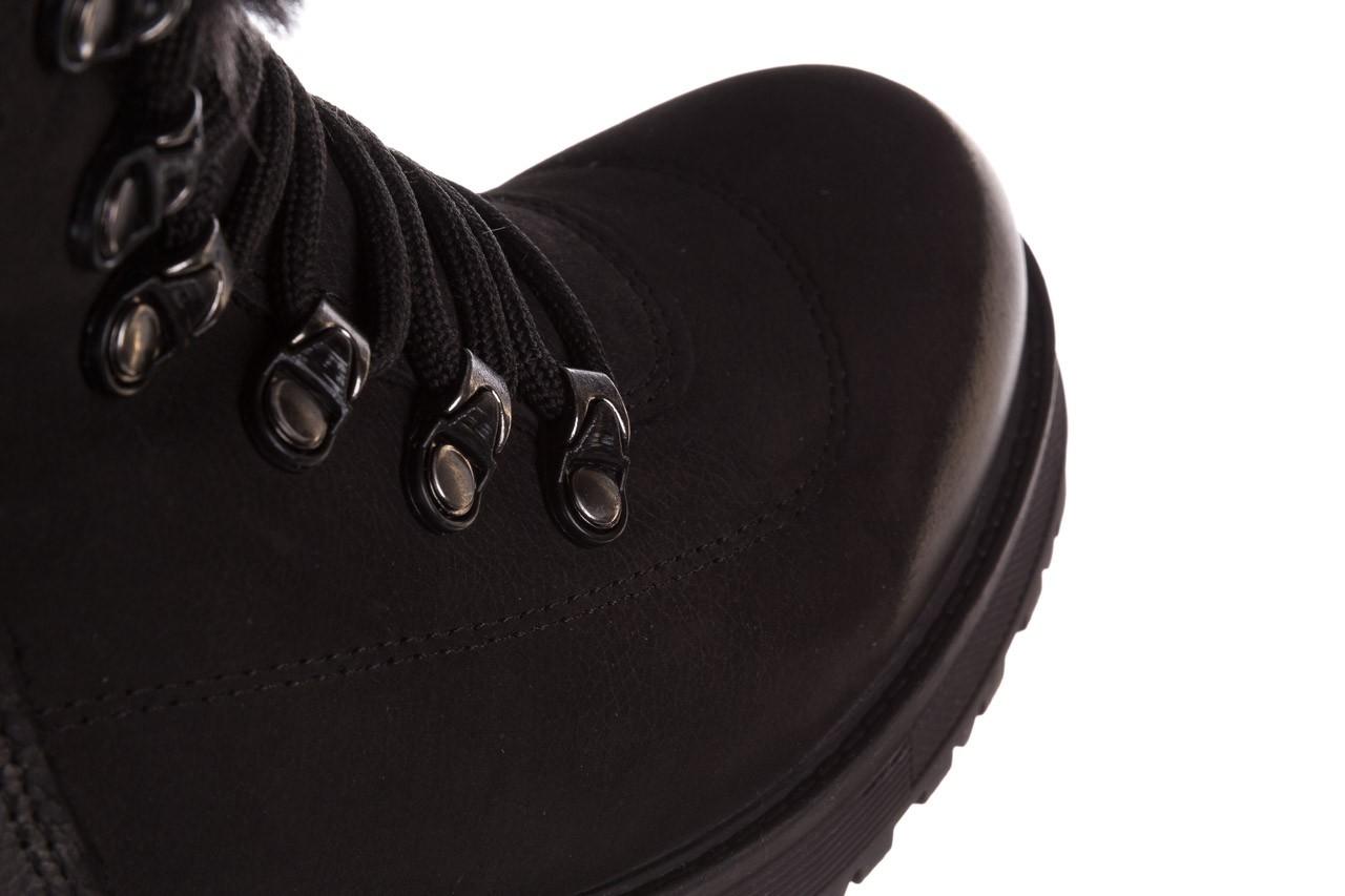 Trzewiki bayla-161 059-2117 black, czarny, skóra naturalna  - trzewiki - buty damskie - kobieta 18