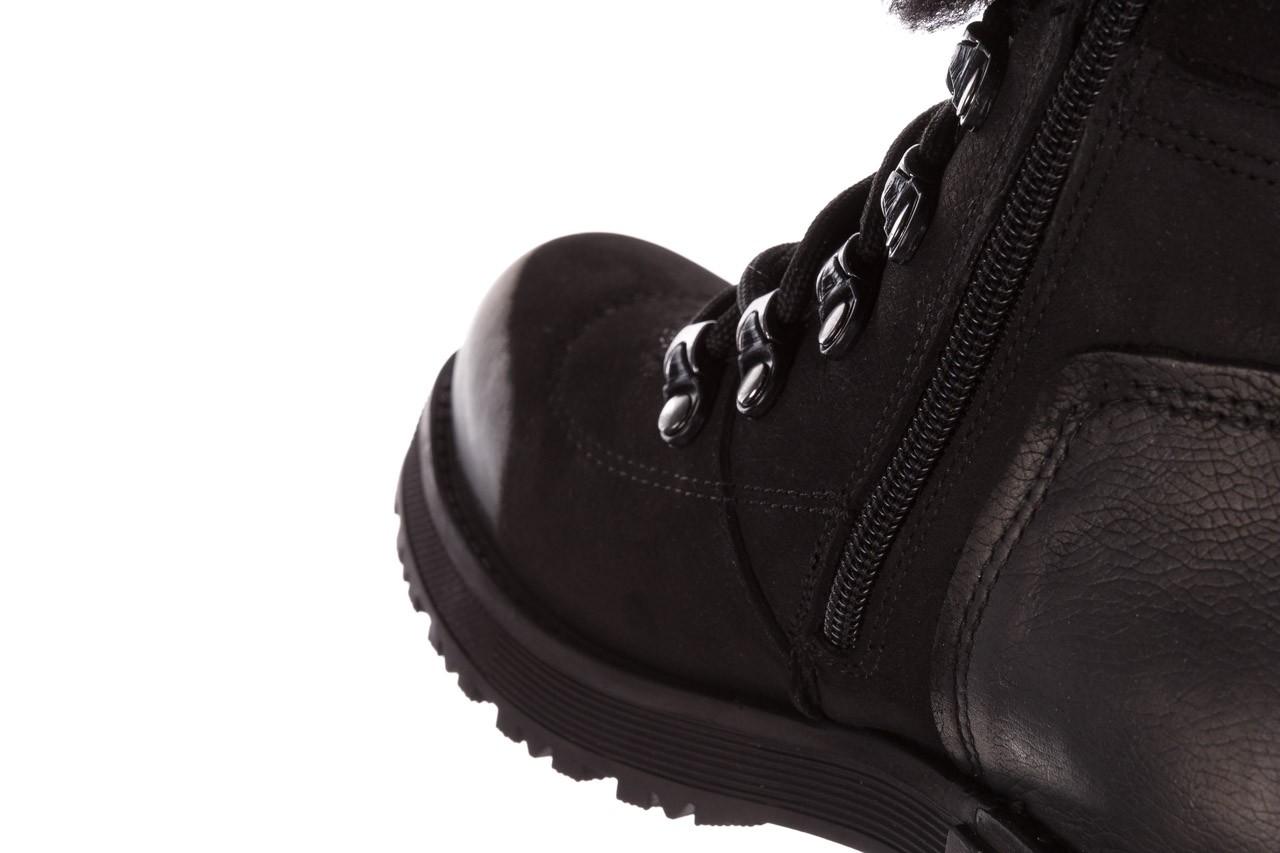 Trzewiki bayla-161 059-2117 black, czarny, skóra naturalna  - trzewiki - buty damskie - kobieta 19