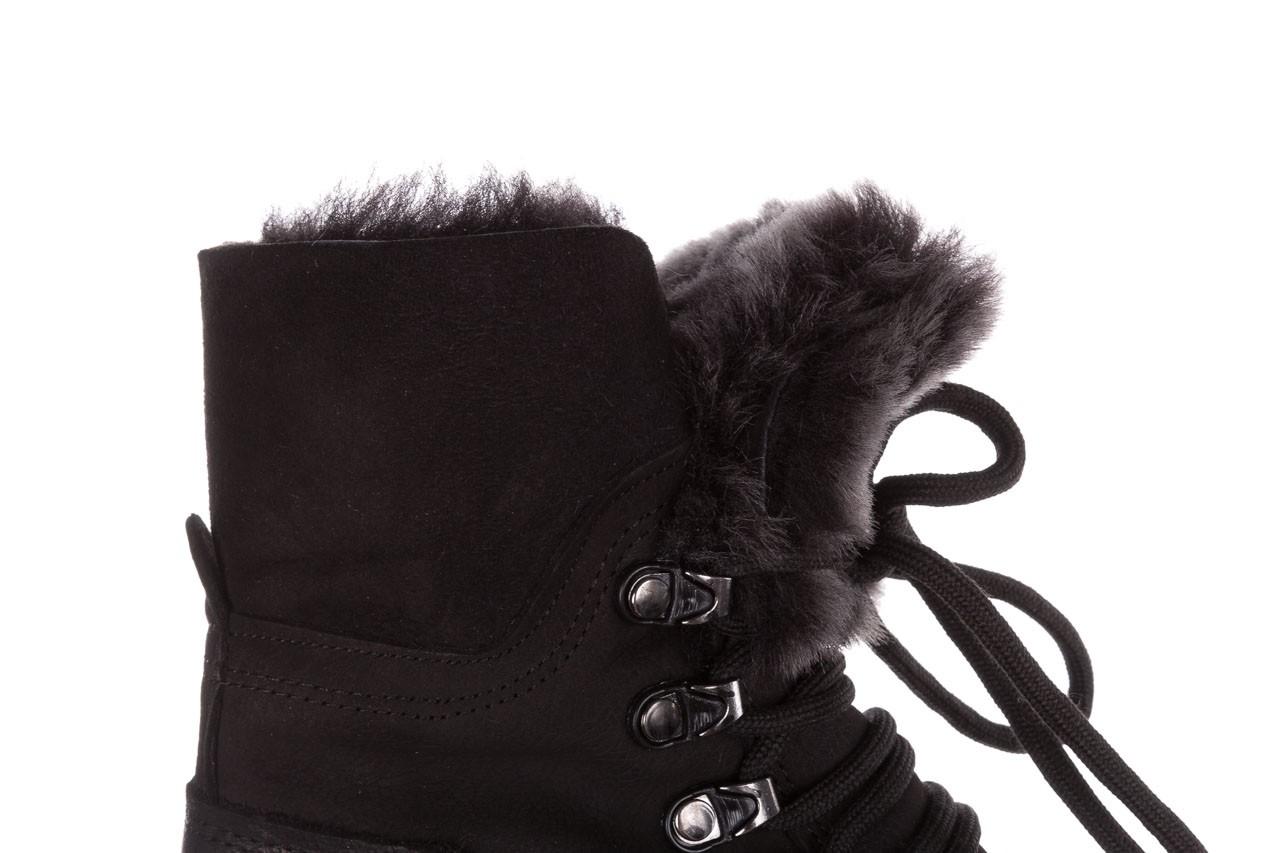 Trzewiki bayla-161 059-2117 black, czarny, skóra naturalna  - trzewiki - buty damskie - kobieta 20