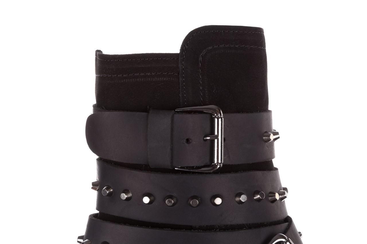 Trzewiki bayla-161 050-2341 black, czarny, skóra naturalna  - trzewiki - buty damskie - kobieta 19