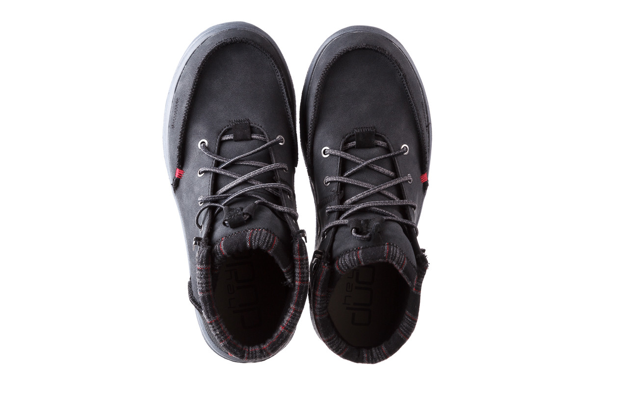 Trzewiki heydude bradley black 003191, czarny, skóra naturalna  - buty męskie - mężczyzna 13