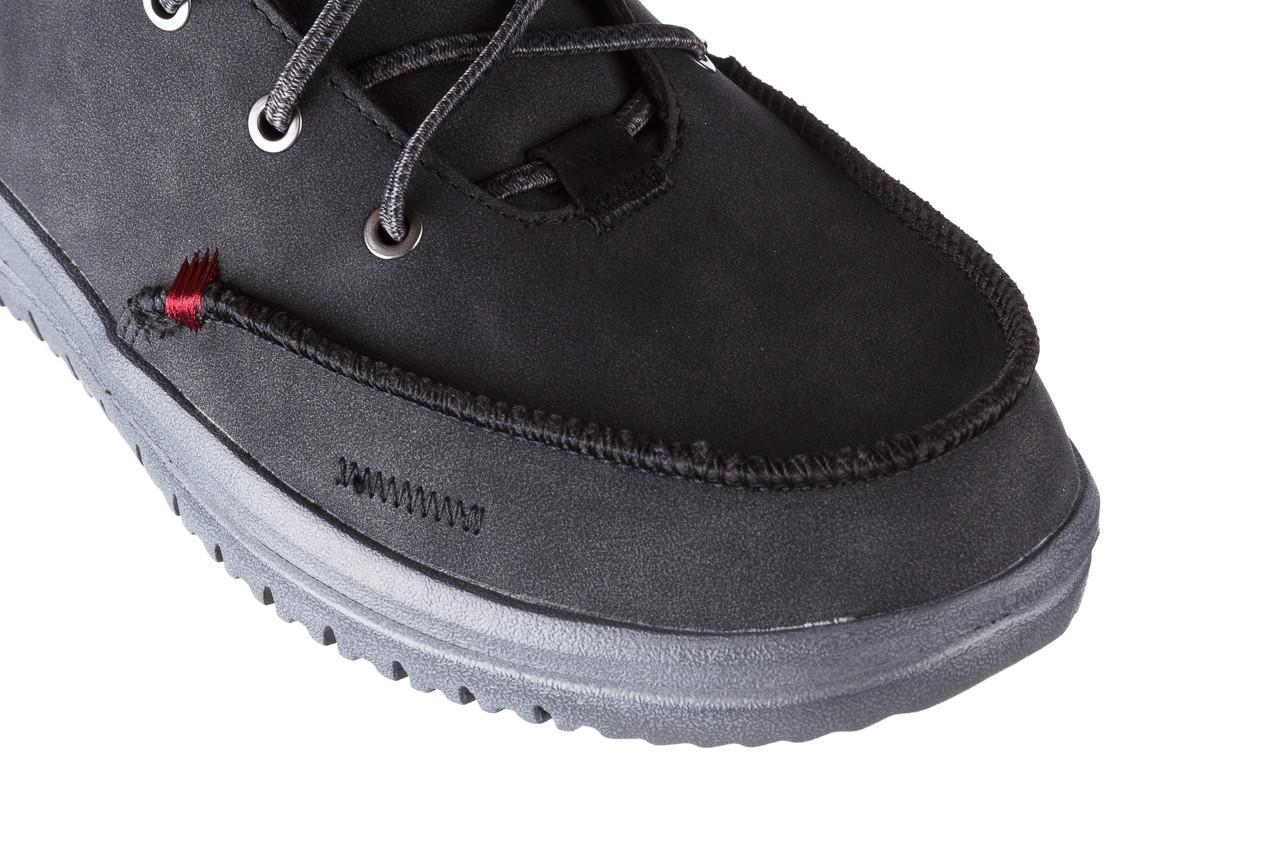 Trzewiki heydude bradley black 003191, czarny, skóra naturalna  - buty męskie - mężczyzna 14