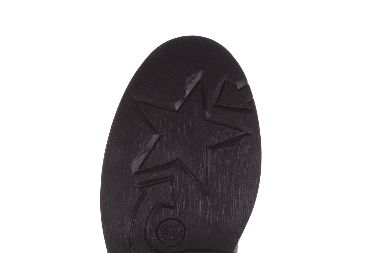 Trzewiki bayla-161 050-2341 black, czarny, skóra naturalna  - trzewiki - buty damskie - kobieta 23