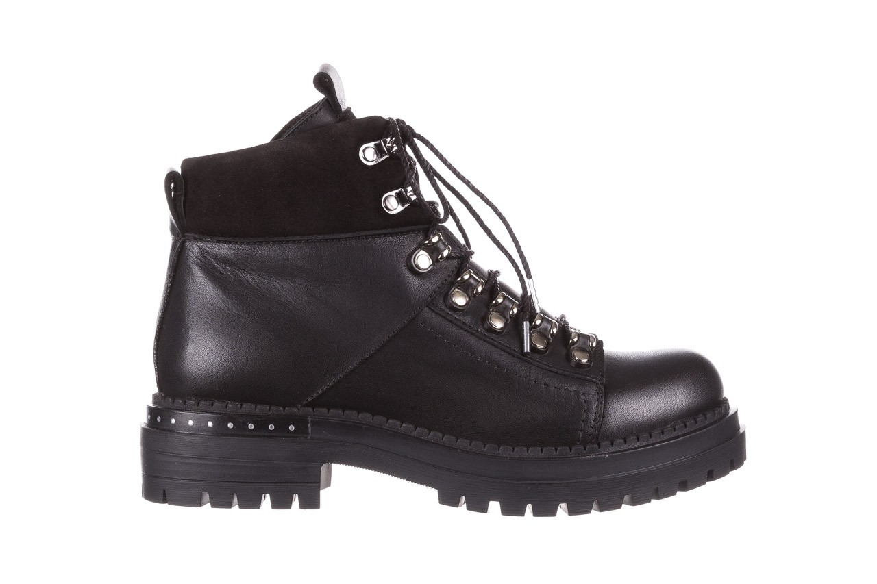 Trzewiki bayla-161 050-7256 black, czarny, skóra naturalna  - trzewiki - buty damskie - kobieta 9