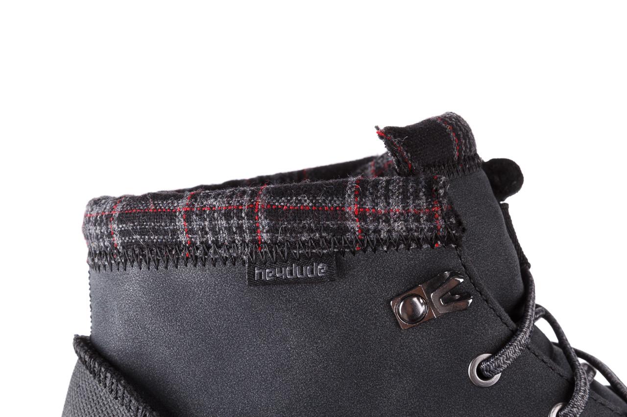 Trzewiki heydude bradley black 003191, czarny, skóra naturalna  - buty męskie - mężczyzna 17