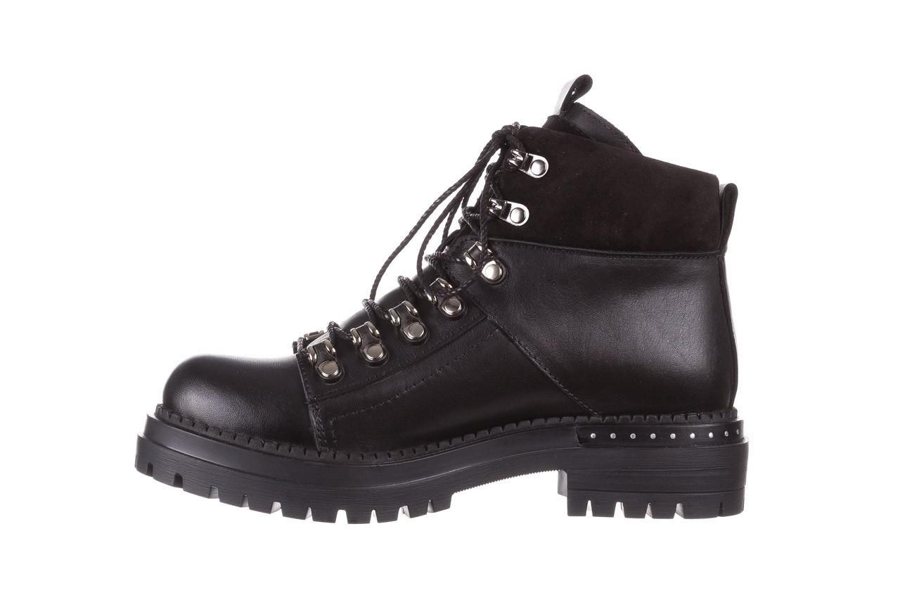 Trzewiki bayla-161 050-7256 black, czarny, skóra naturalna  - trzewiki - buty damskie - kobieta 12